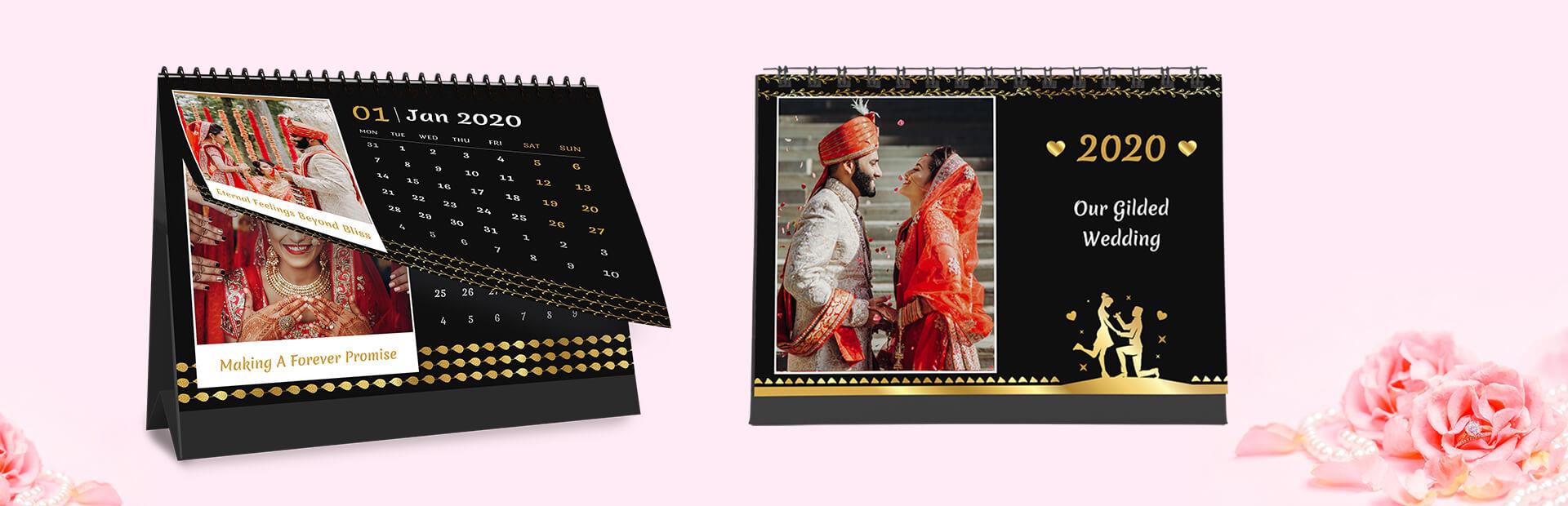 Wedding Wows Photo Calendars Online
