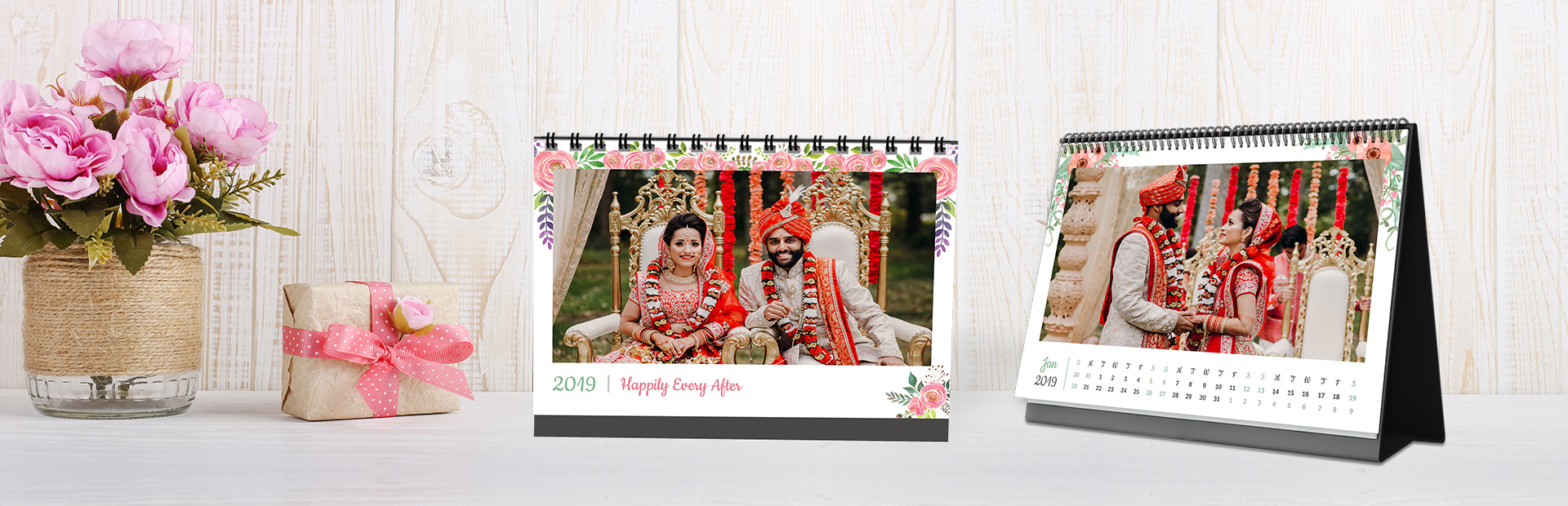 Wondrous Wedding Photo Calendars Online