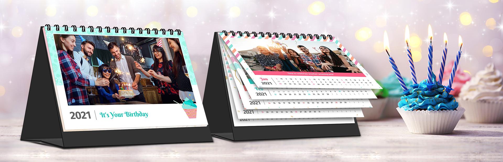 Birthday Star Photo Calendars Online