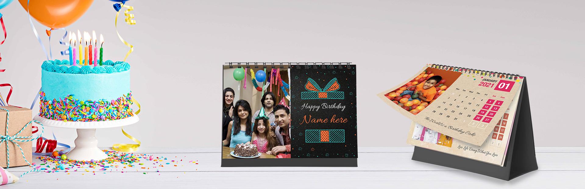 Birthday Vibes Photo Calendars Online