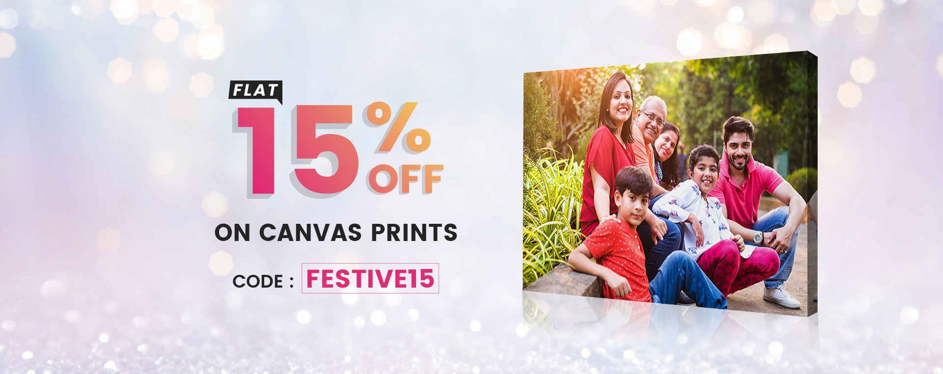 Canvas Prints - Festival Offers