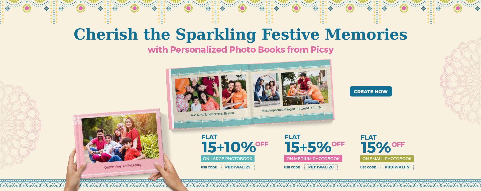 Diwali Photobook Banner