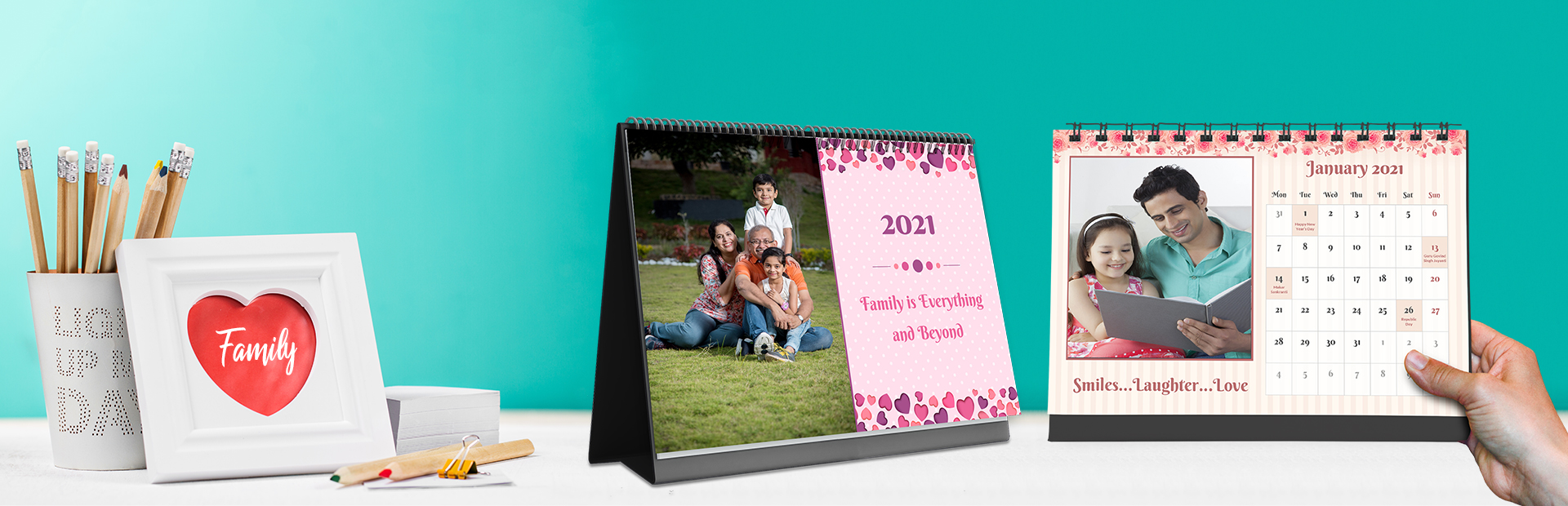 Family Bonds Photo Calendars Online