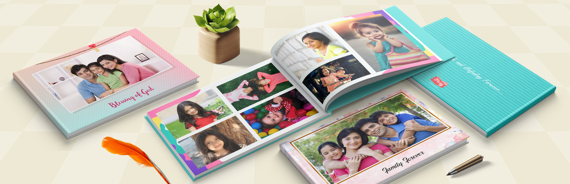 Family Photo Book Themes