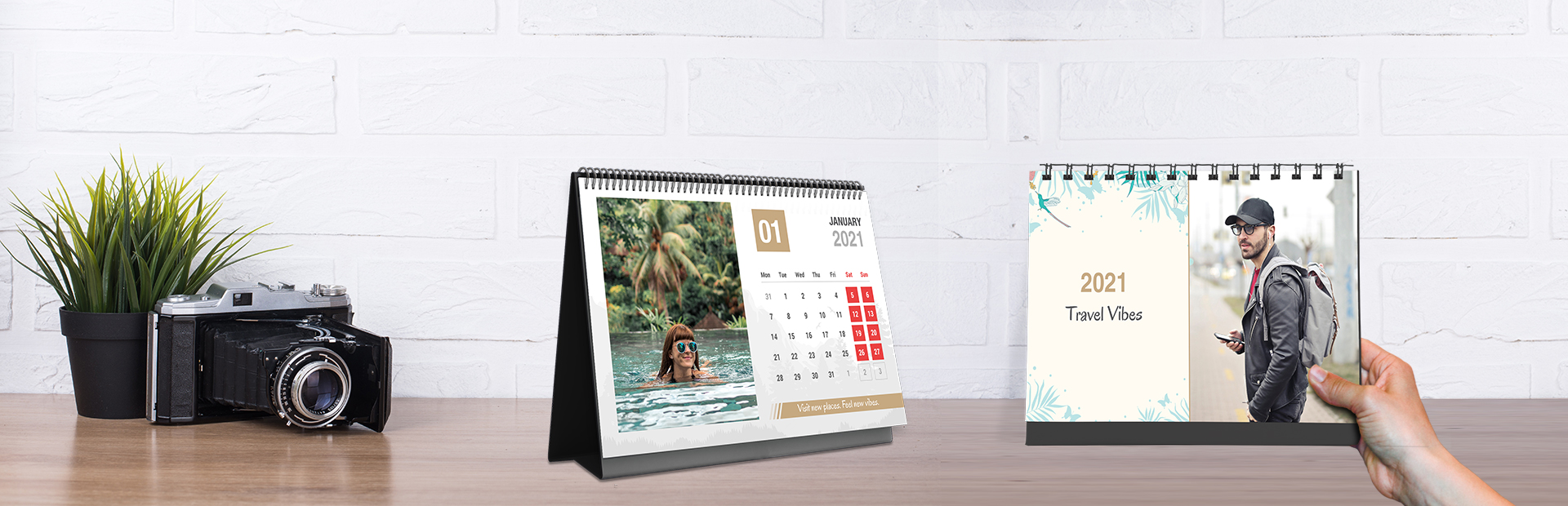 Happy Traveling Photo Calendars Online