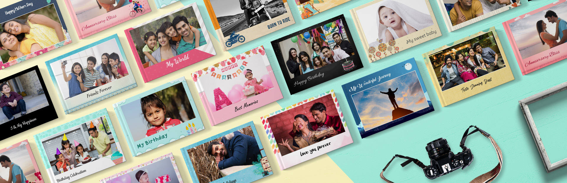 Personalized Photo Books Printing Online - Picsy