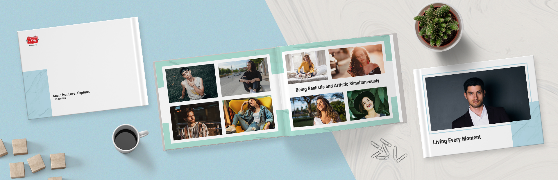 Trendy Portfolio Photo Books Online