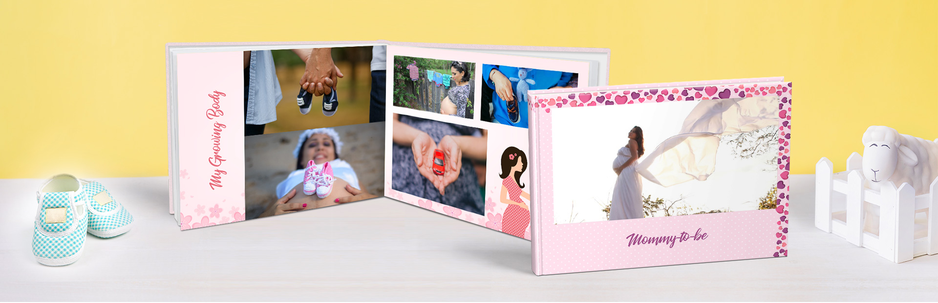 Pre Maternity Custom Photo Books