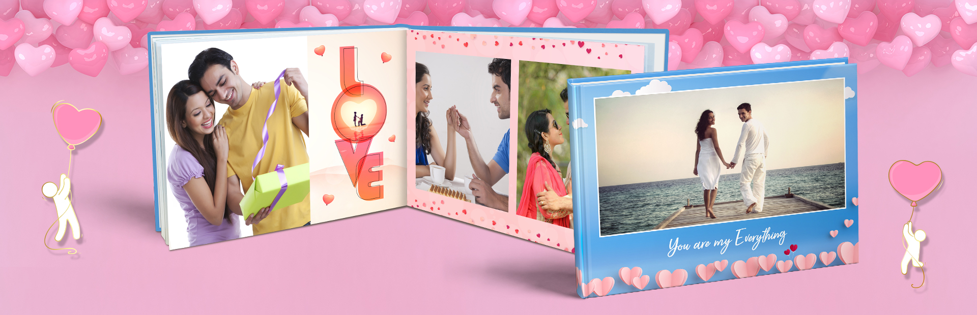 Pre Wedding Custom Photo Books