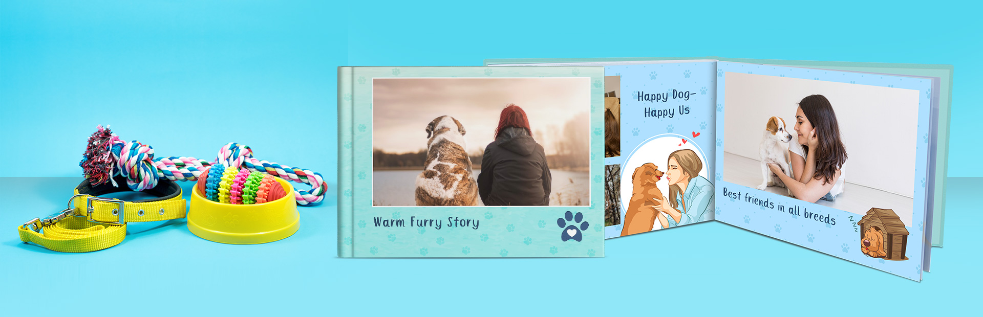 Pure Dog Love Custom Photo Books