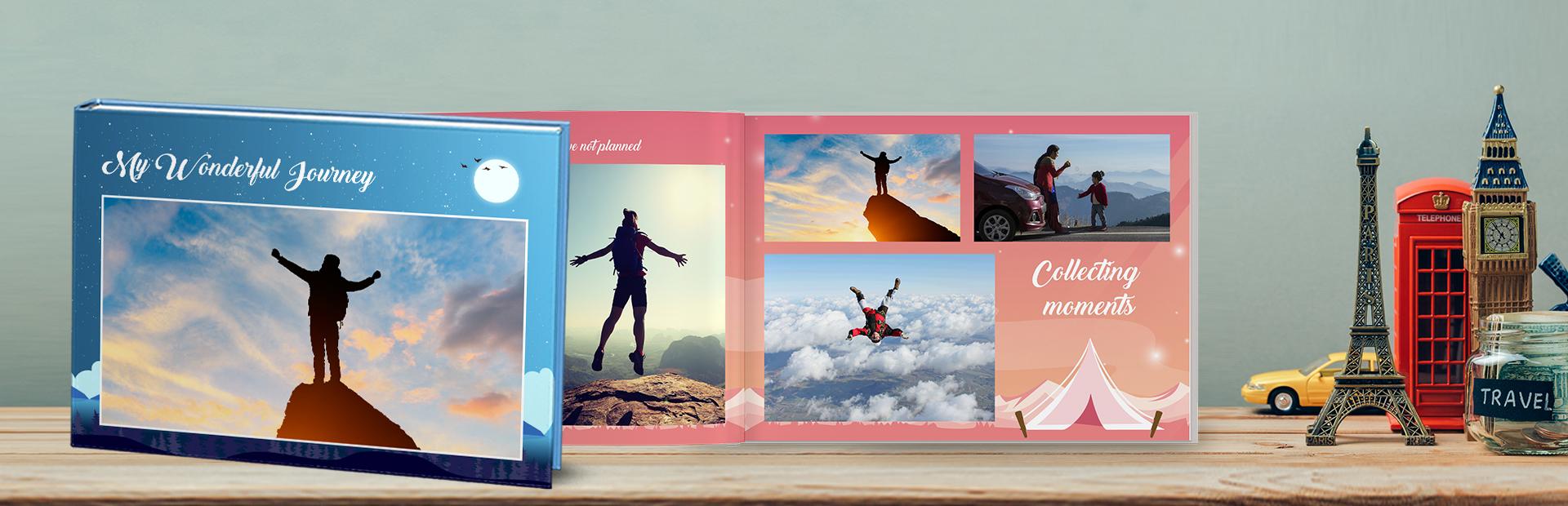 Solo Traveler Custom Photo Books