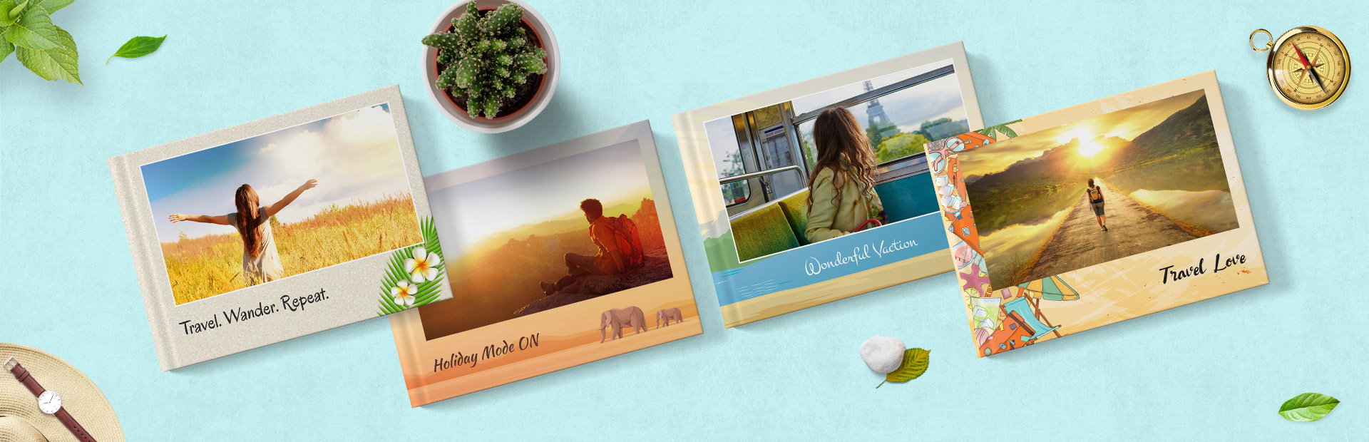 Travel Photo Book Themes