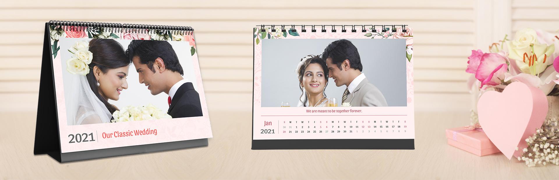 Wedding Classic Photo Calendars Online