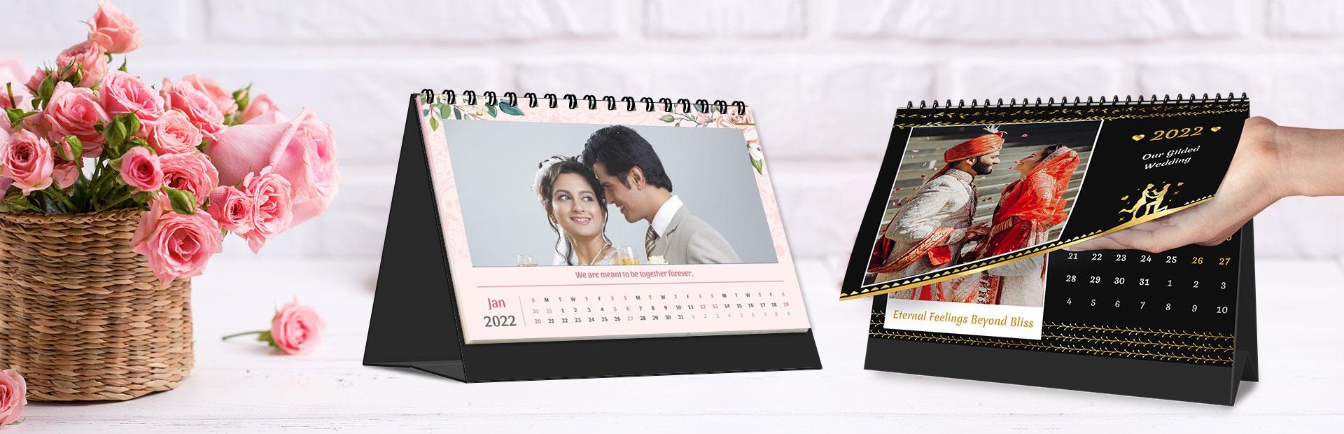 Wedding Desk Calendars Online