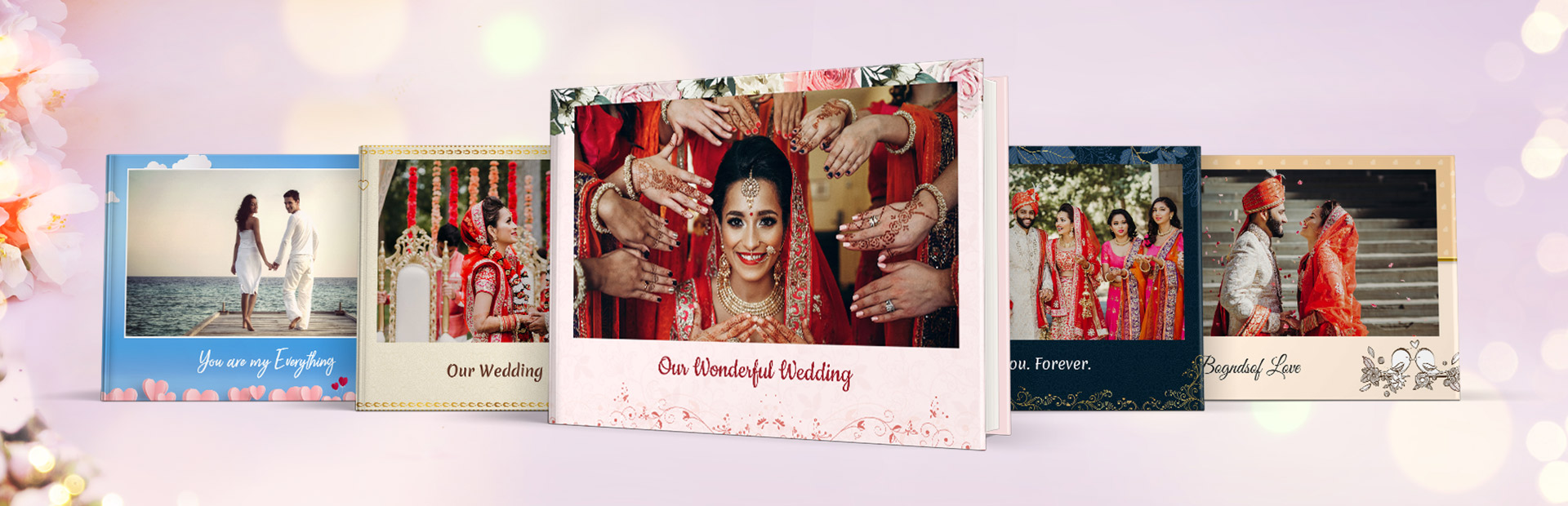 Wedding Special Photo Book Themes