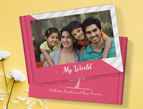 Family Photo Book Printing - Picsy