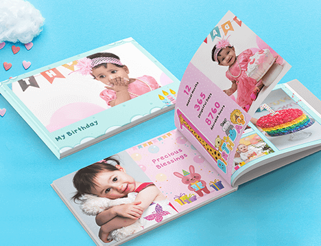 Kids Photo Book Printing - Picsy