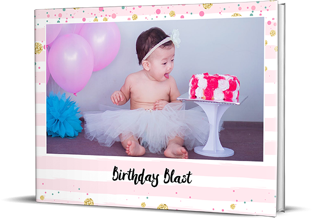 Birthday Story Personalized Photo Albums