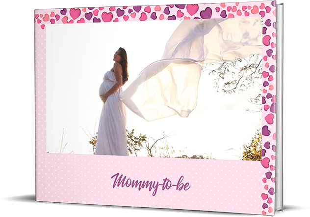 Pre Maternity Personalized Photo Albums