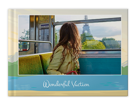 Travel Vacay Photo Book Printing