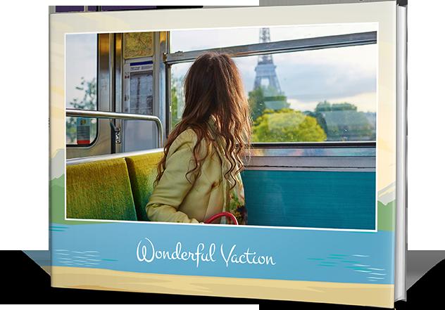 Travel Vacay Photo Book Printing