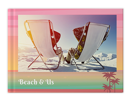 Beach Holidays Photo Book Printing