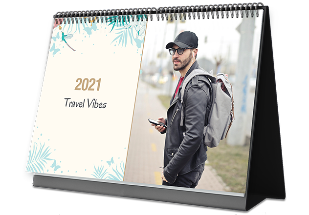 Happy Traveling Personalized Photo Calendars