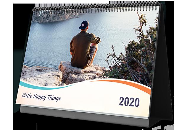 Modern Hues  Photo Calendar Printing