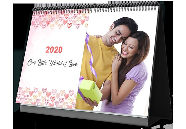 Lovely Family Custom Photo Calendars