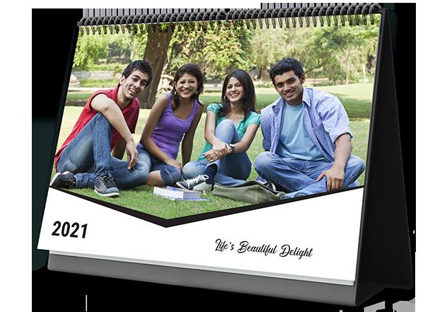 Classic Monochrome Custom Photo Calendars