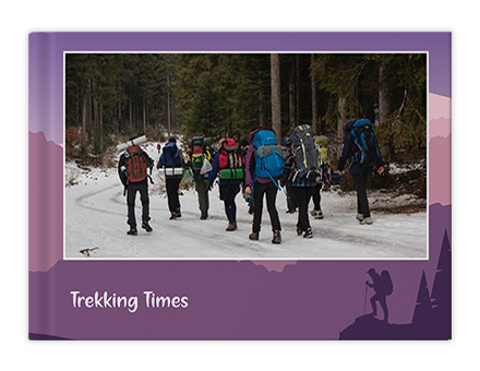 Happy Go Trekking Photo Book Printing