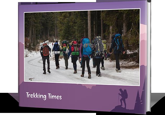 Happy Go Trekking Photo Book Printing
