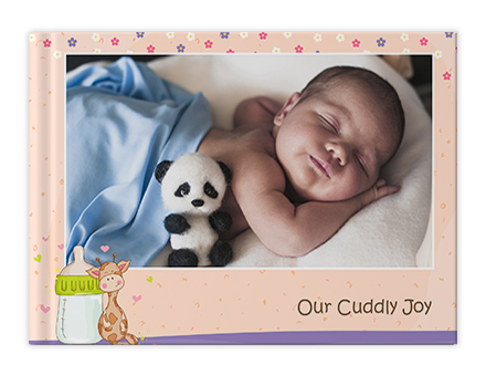 Sweet Cuddle Custom Photo Books