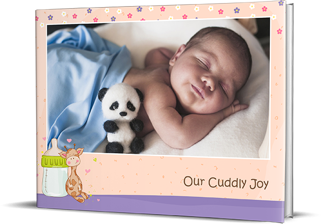 Sweet Cuddles Personalized Photo Books