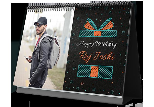 Birthday Vibes Custom Photo Calendars