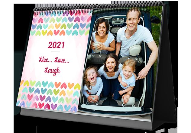 Love Vibes Photo Custom Photo Calendars