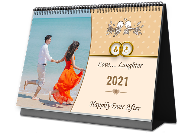 Eternal Bond Personalized Photo Calendars