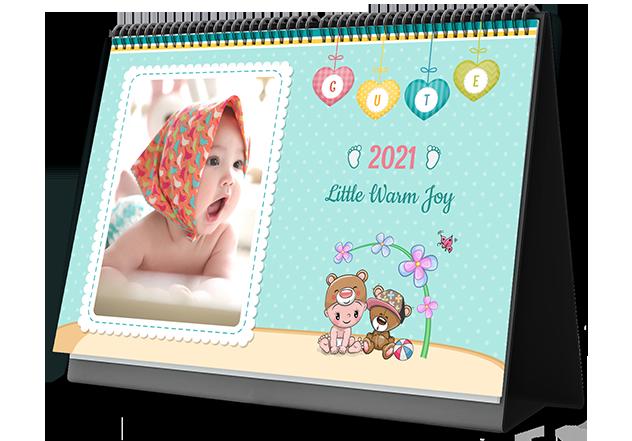 Baby Joy Personalized Photo Calendars