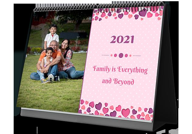 Family Bonds Personalized Photo Calendars