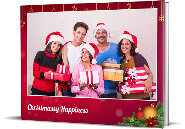 Merry Christmas Personalized Photo Albums