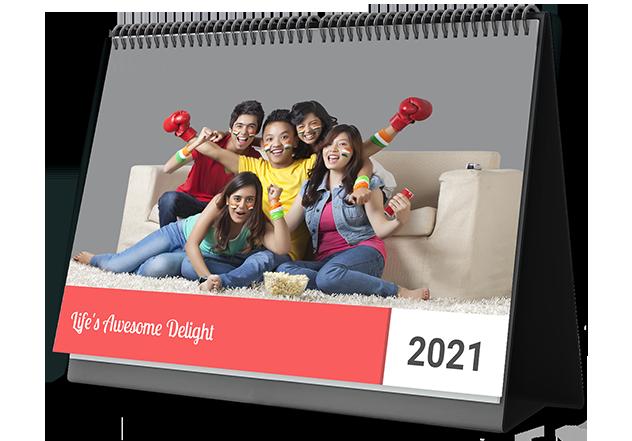 Trendy Joy Personalized Photo Calendars