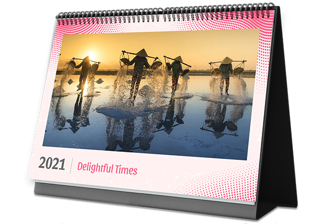 Ink It Classy Personalized Photo Calendars