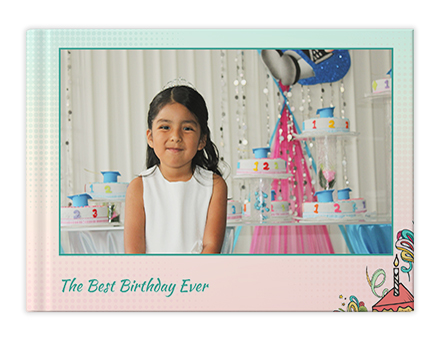 Birthday Joy Personalized Photo Books