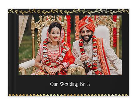 Gilded Wedding Photo Book Printing