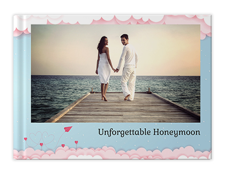 Honeymoon Memories Personalized Photo Books