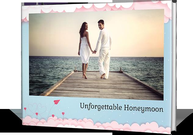 Honeymoon Memories Personalized Photo Books