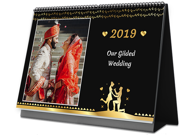 Wedding Wows Personalized Photo Calendars