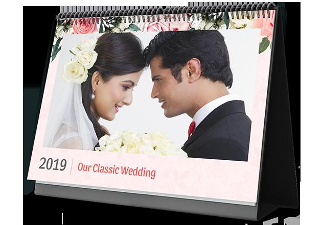 Wedding Classic Photo Calendar