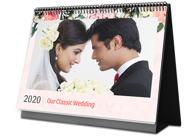 Wedding Classic Photo Calendar