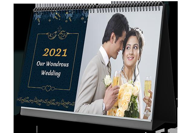 Wedding Vibes Photo Calendar Printing